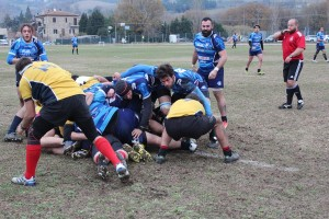 11 Dicembre 2016 - Guardia Martana Vs Foligno Rugby